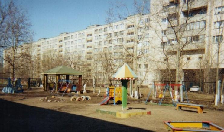 <FONT face=Verdana,Geneva,Arial,Helvetica,Sans-Serif size=4><b>Playground at ILP School in St. Petersburg</b></FONT>